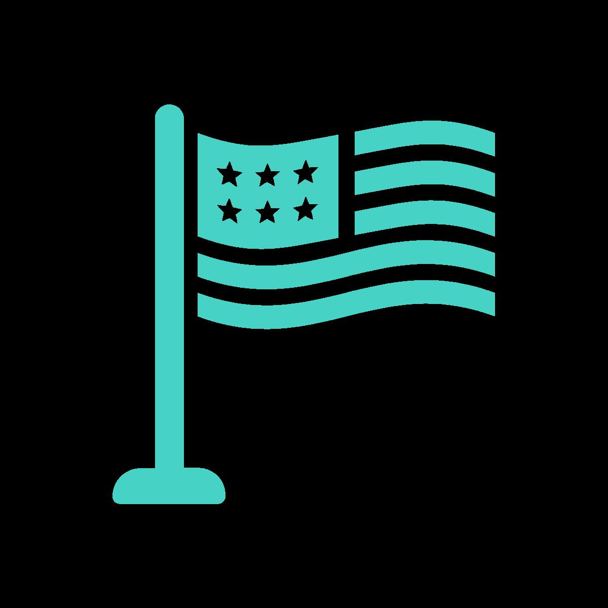 US data retention schedule flag